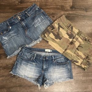 Abercrombie Short & Skirt Bundle - Size 10
